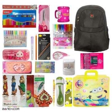 عکس پکیج نوشت افزار دخترانه کلاس 5 و 6 لاکچری Girl Package  پکیج-نوشت-افزار-دخترانه-کلاس-5-و-6-لاکچری-girl-package