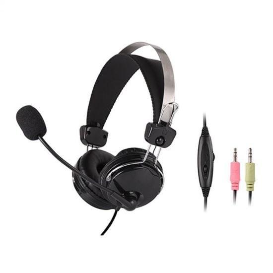 تصویر مشخصات ، قیمت و خرید هدست ای فورتک A4tech – HS7P Headset A4tech HS-7P