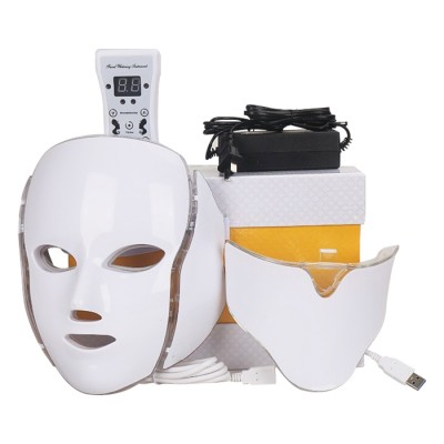 تصویر ماسک ال ای دی LED facial mask