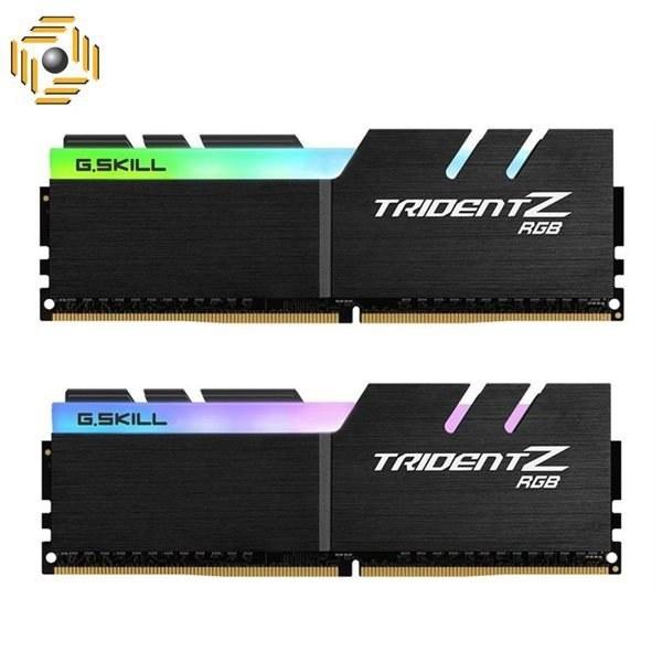 تصویر رم دسکتاپ DDR4 دو کاناله 3200 مگاهرتز CL16 جی اسکیل مدل TRIDENT Z RGB ظرفیت 16 گیگابایت