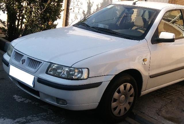 خودروهای ایران خودرو، سمند، lx، 1392 |