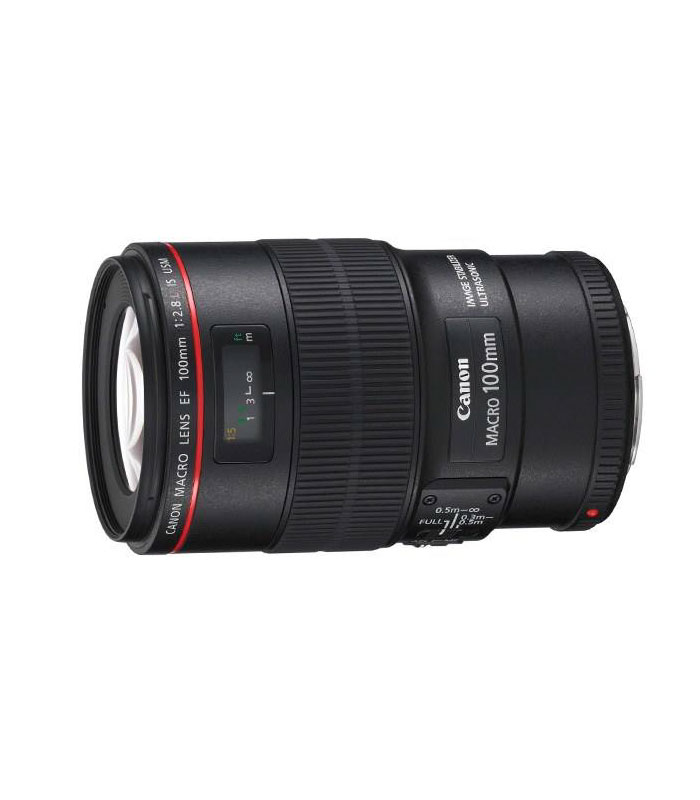 تصویر لنز کانن Canon EF 100mm f/2.8L Macro IS USM Canon EF 100mm f/2.8L Macro IS USM Lens
