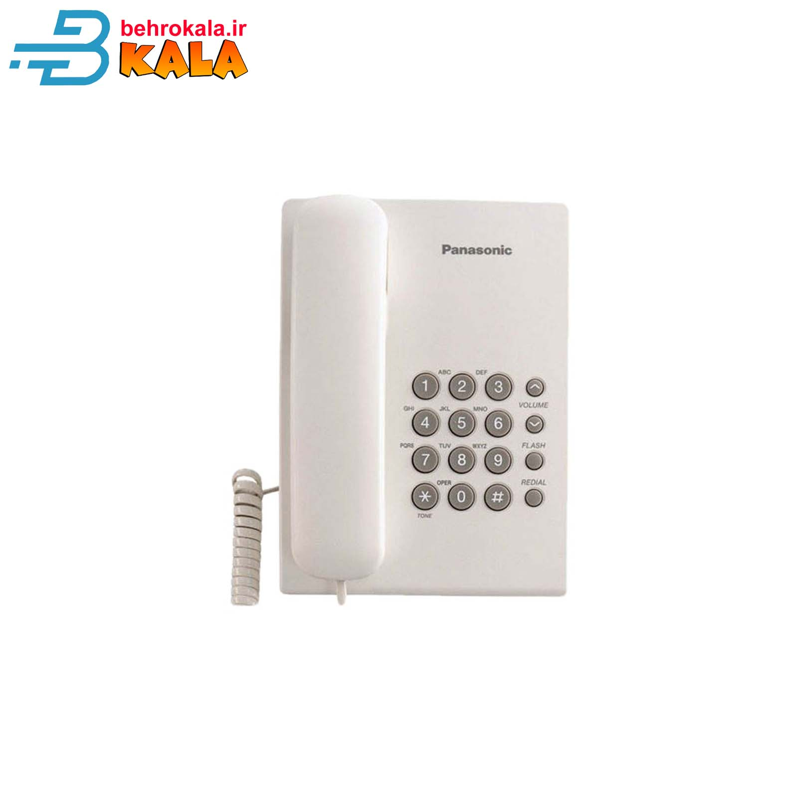 main images گوشی تلفن ثابت پاناسونیک Panasonic Corded Telephone KX-TS500MX