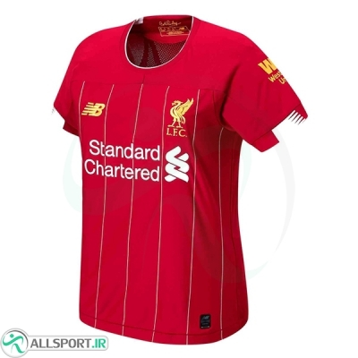 پیراهن زنانه اول لیورپول Liverpool 2019-20 Women Home Soccer Jersey