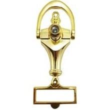 تصویر چشمی درب کوبدار کوچک طلایی