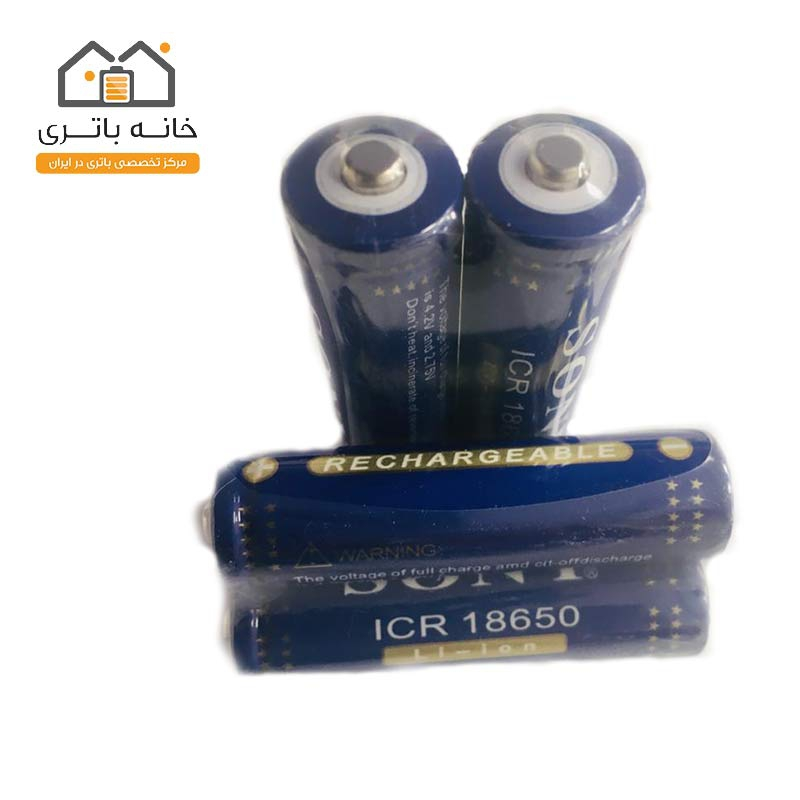 باتری لیتیوم یون18650 ظرفیت 5000 میلی آمپرساعت سونی(Sony)