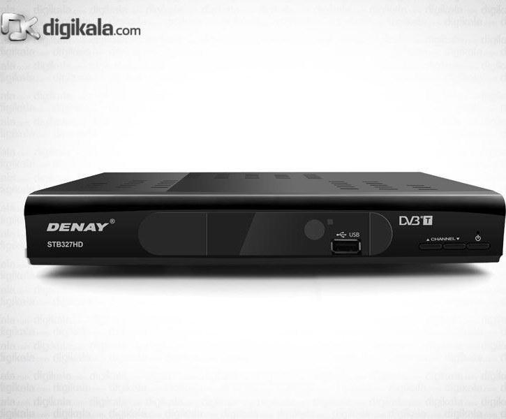 تصویر گیرنده تلویزیون دیجیتال دنای DVB-T STB327HD Denay DVB-T STB327HD