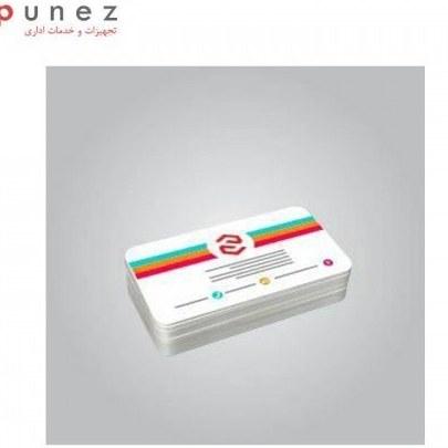 کارت pvc سفید 760 میکرون بسته 50 عددی
