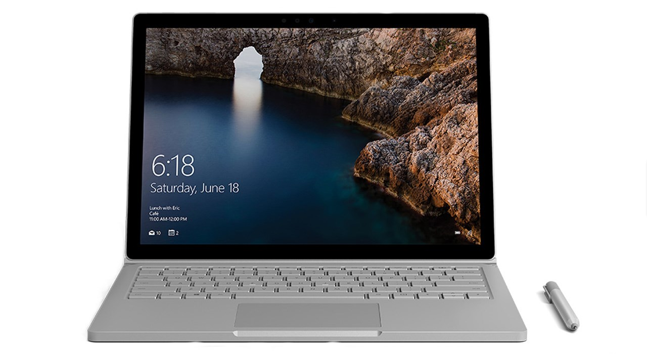img لپ تاپ ۱۳ اینچ مایکروسافت Surface Book Microsoft Surface Book | 13 inch | Core i5 | 8GB | 256GB