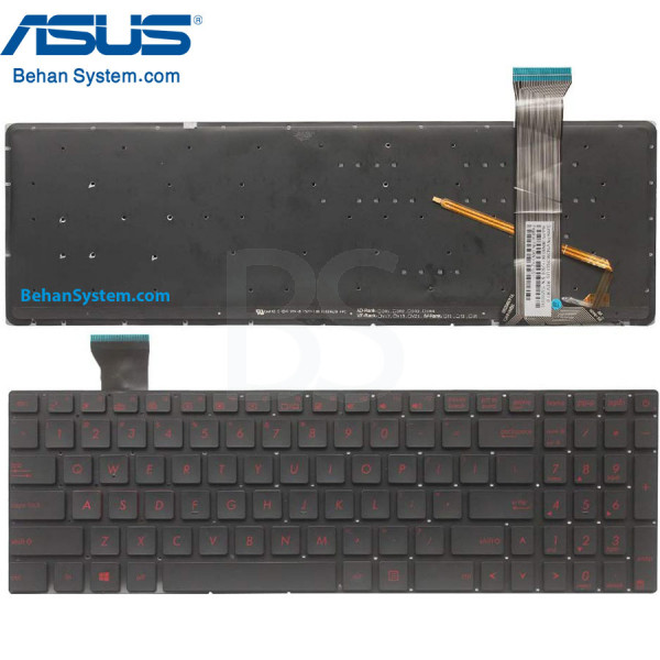 کیبورد لپ تاپ ASUS مدل ROG GL552