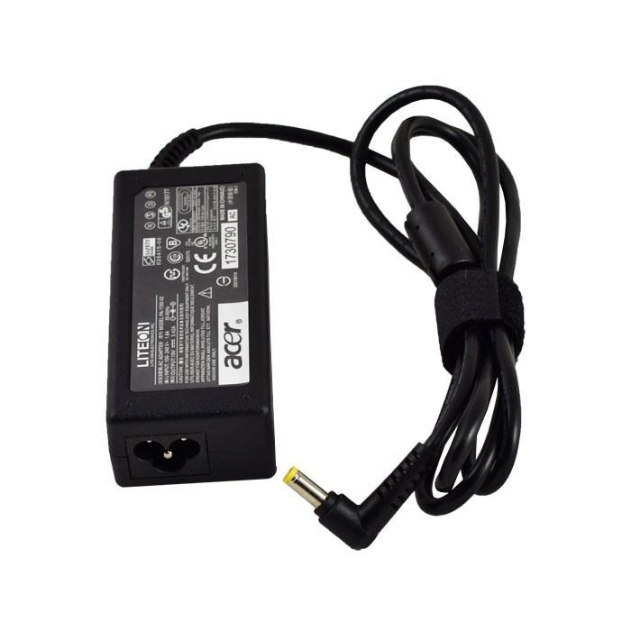 تصویر شارژر لپ تاپ ایسر 19 ولت 3.42 آمپر 5.5X1.7 Acer Laptop adapter 19 Volts 3.42 Ampere 5.5*1.7
