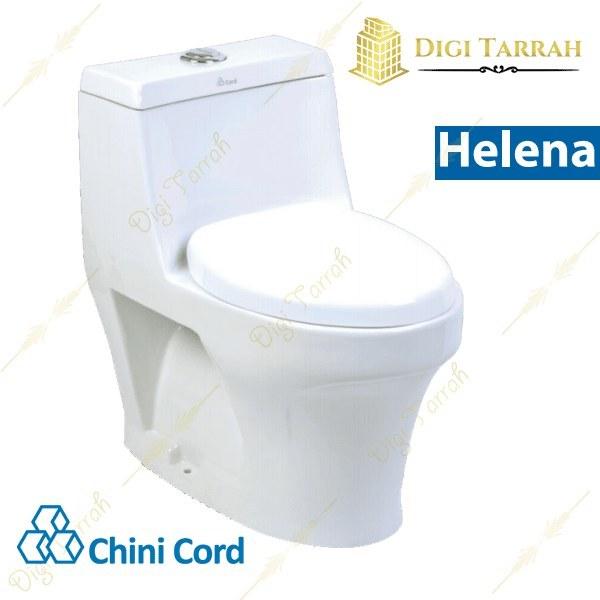 تصویر توالت فرنگی هلنا چینی کرد Helena Toilet