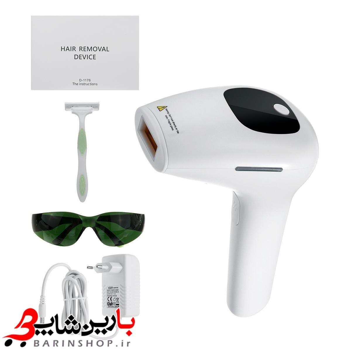 تصویر دستگاه لیزر خانگی حذف موی زائد صورت و بدن Hair Removal Device