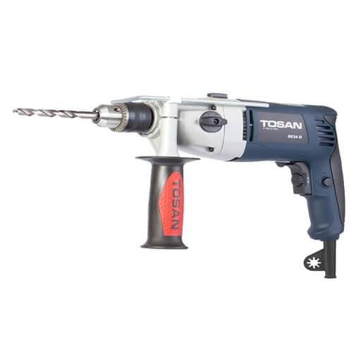 عکس دریل 13 گیربکسی بدون لوازم توسن TOSAN 0034D impact drill TOSAN 0034D دریل-13-گیربکسی-بدون-لوازم-توسن-tosan-0034d