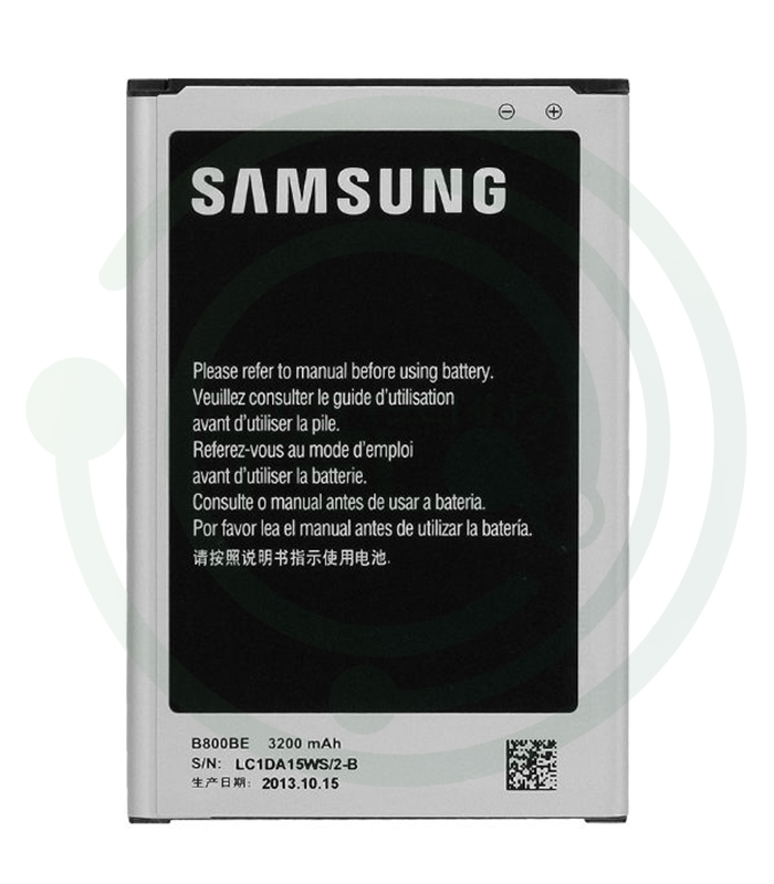 تصویر باتری سامسونگ Samsung Galaxy Note 3 N9000 مدل B800BE battery Samsung Galaxy Note 3 N9000 model B800BE