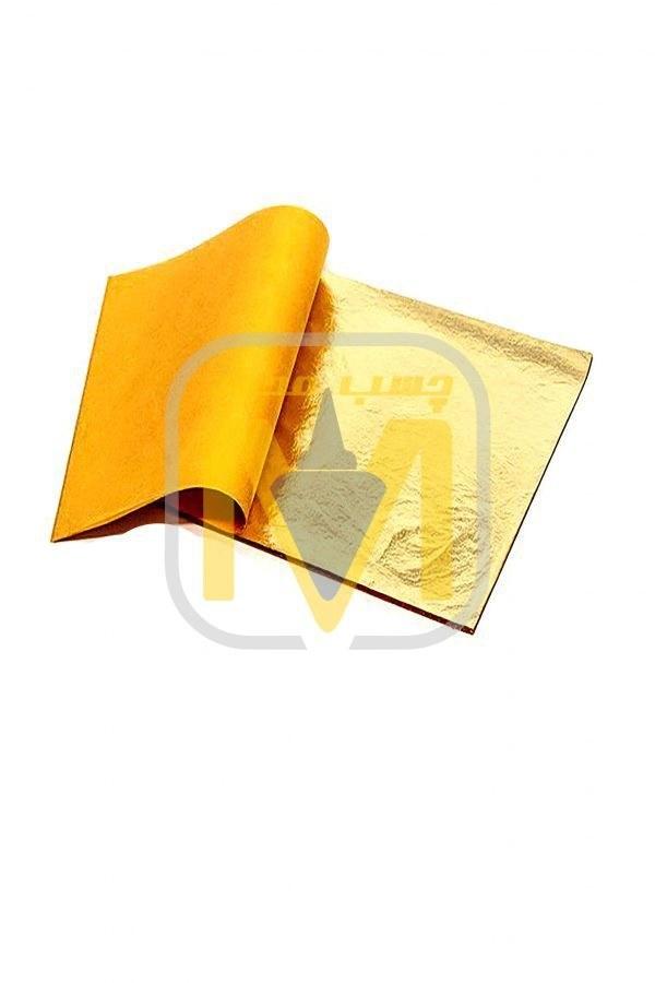 ورق طلا ابزار کار با رزین اپوکسی بسته 25 ورقی