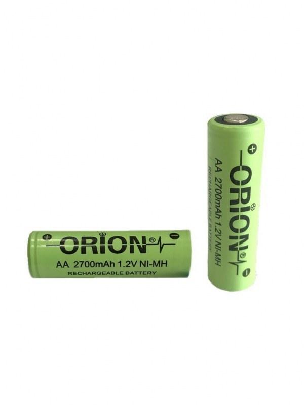 عکس باتری قلمی شارژی سرتخت 2700 میلی آمپر اوریون orion  باتری-قلمی-شارژی-سرتخت-2700-میلی-امپر-اوریون-orion