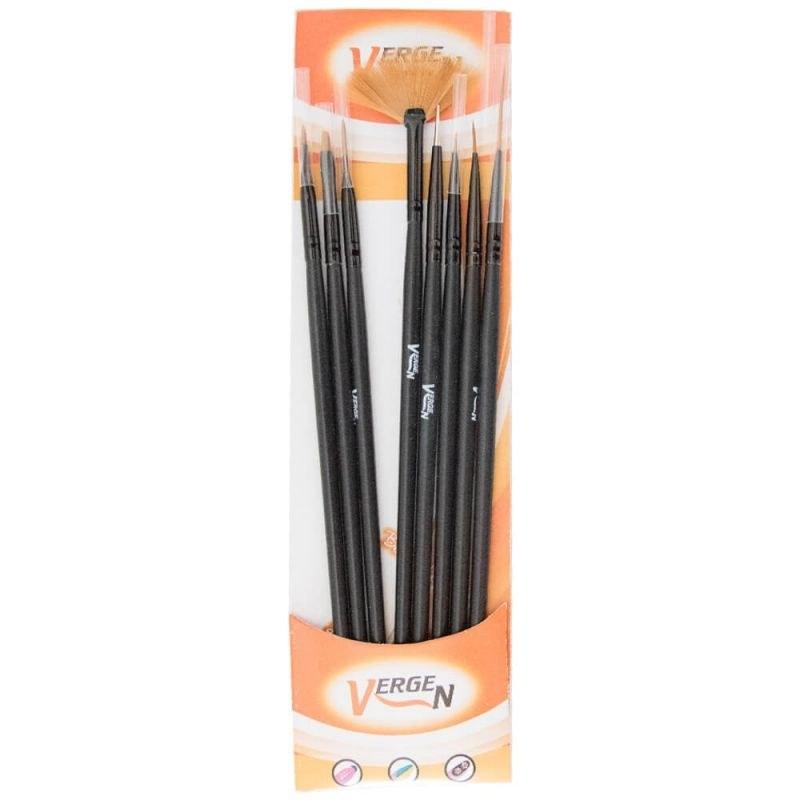 ست قلم کاشت ناخن ورگن مدل DR103