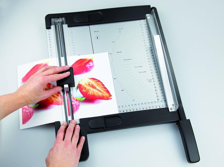 تصویر دستگاه برش و ویرایش سوپربایند مدل OC500 Super boind OC500 paper cutter Edit