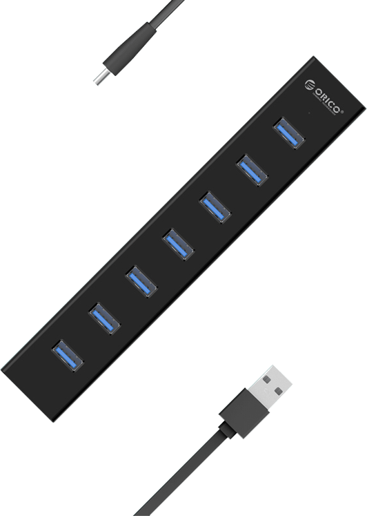 هاب ORICO مدل H7013-U3-AD | ORICO H7013-U3-AD HUB