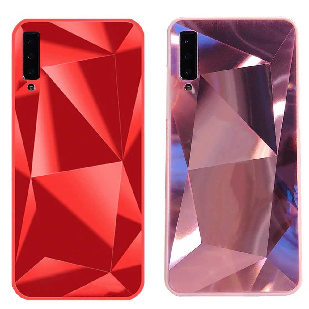 قاب الماسی سامسونگ Luxury Diamond Mirror Case galaxy A7 2018 | A750 |