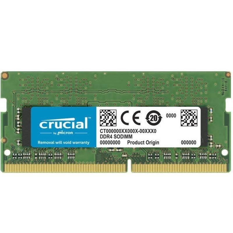 تصویر رم لپ تاپ DDR4 دو کاناله 3200 مگاهرتز CL22 کروشیال مدل CT16 ظرفیت 16 گیگابایت