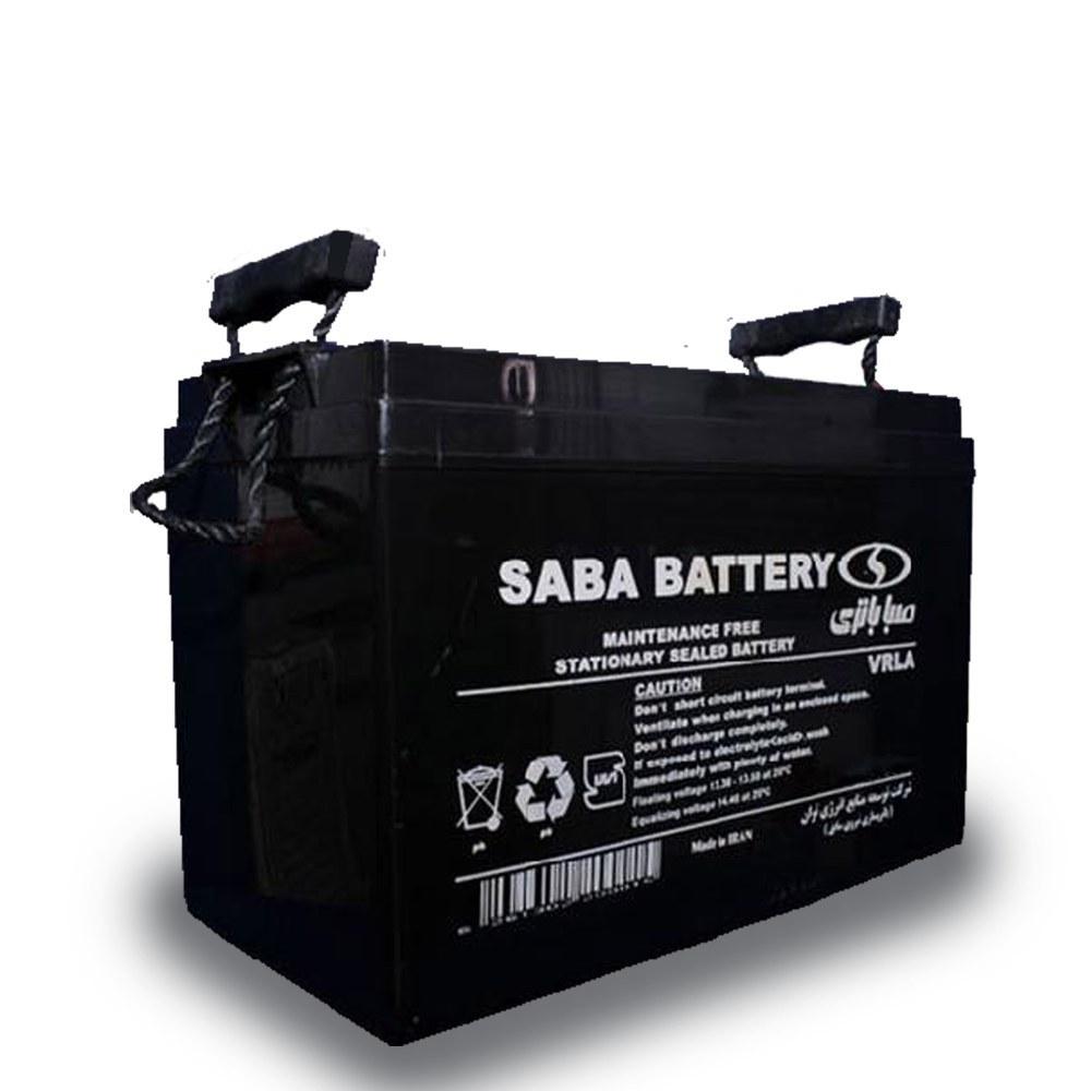 تصویر باتری یو پی اس (سیلد اسید) صبا باتری ۱۰۰ آمپر