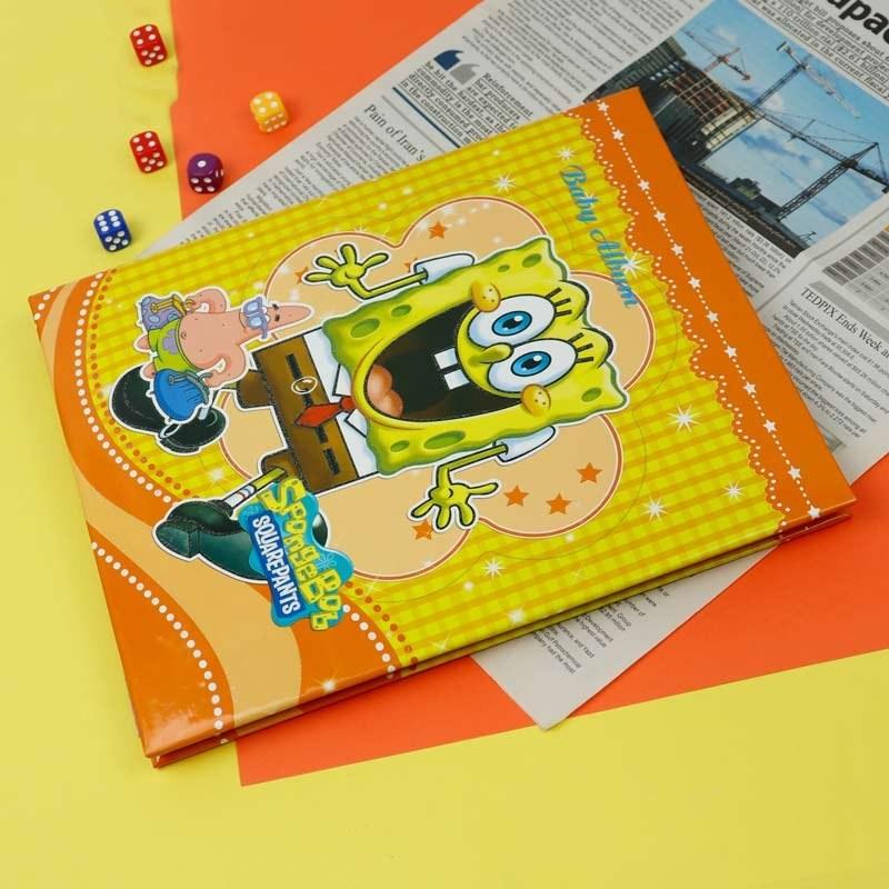 تصویر آلبوم عکس چسبی شجره کودک طرح باب اسفنجی Sponge Bob Picture Album