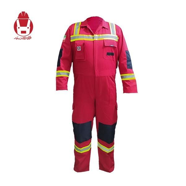 تصویر لباس کار یکسره آتش نشانی امداد