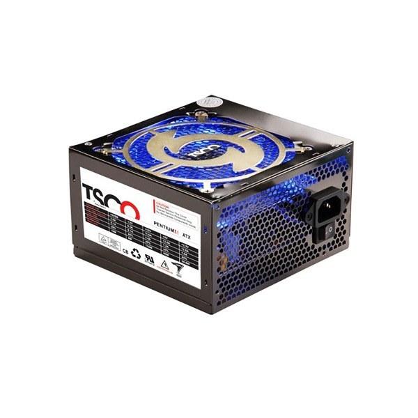 تصویر پاور TSCO TP-650 + کابل برق (گارانتی ۱۲ ماهه) TSCO TP-650 Computer Power Supply