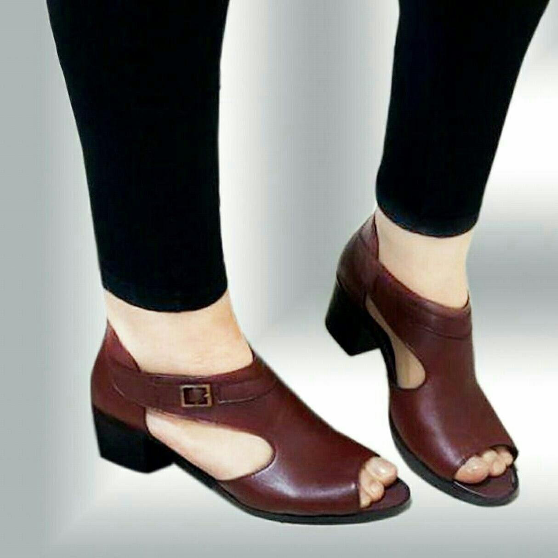 کفش چرم زنانه مجلسی
