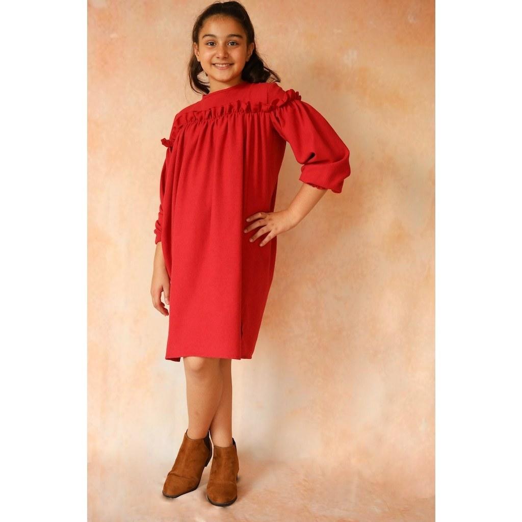 خرید آنلاین لباس مجلسی دخترانه برند hoquspoqus ارسال مستقیم از ترکیه