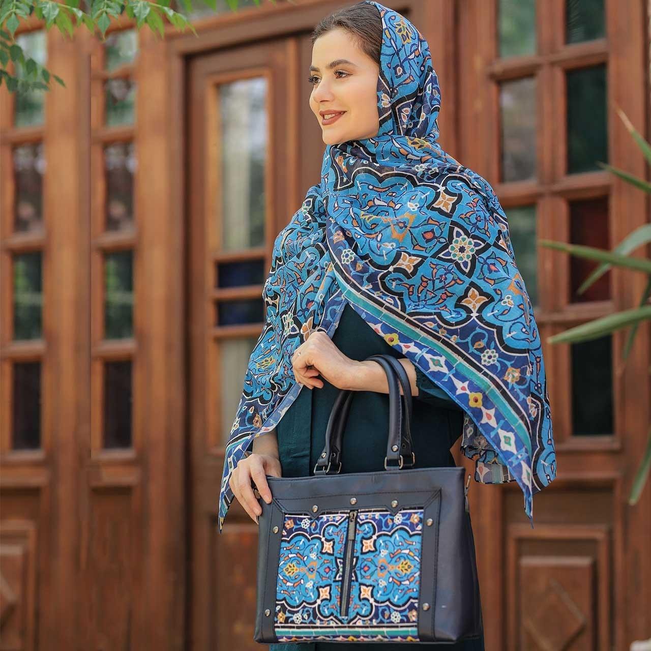 تصویر ست کیف و شال زنانه باران کد 06 ا Baran Women  Bag  and  Shawl  Set Code 06 Baran Women  Bag  and  Shawl  Set Code 06