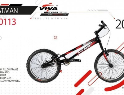 تصویر دوچرخه ویوا بتمن سایز 20 کد 20113 -  VIVA BATMAN