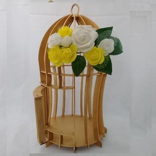 قفس چوبی تزئینی  