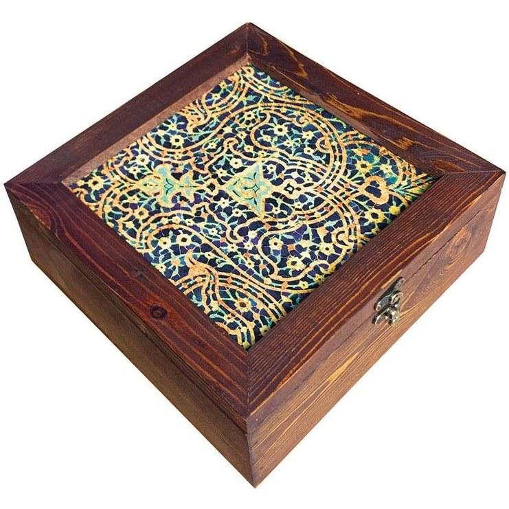 تصویر جعبه هدیه چوبی کد SD-04