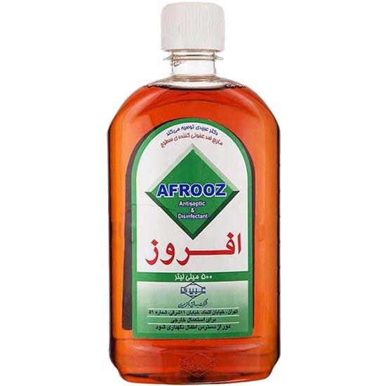 مایع ضدعفونی کننده سطوح 500 میل افروز