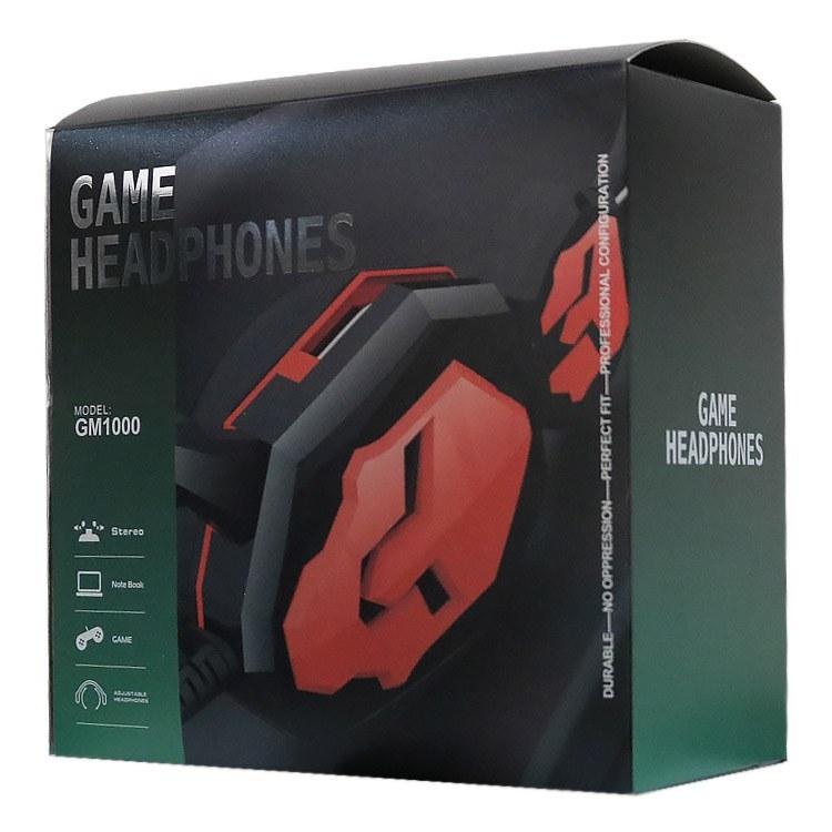 تصویر هدفون گیمینگ مدل GM-1000 (Headphone Gaming GM1000)