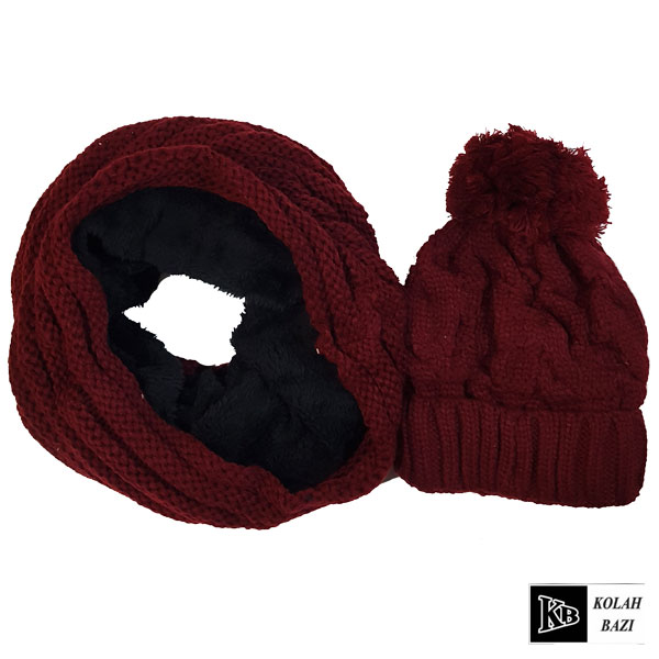 main images شال و کلاه بافت مدل shk46 Textured scarf and hat shk46