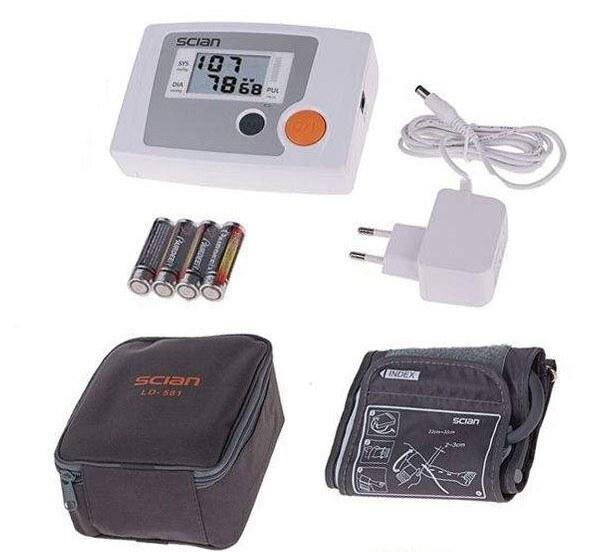 تصویر فشارسنج بازوئی وکتو مدل LD-581 VEKTO LD-581 Blood Pressure Monitor