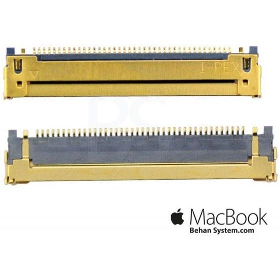 "تصویر کانکتور 30 پین فلت مک بوک 13 اینچ A1342 سال 2009 و 2010 30pin LVDS Connector Apple MacBook 13"" A1342"