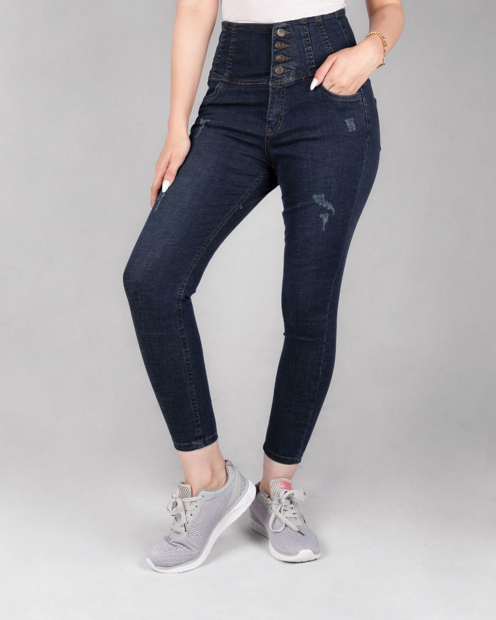 شلوار جین گن دار زنانه