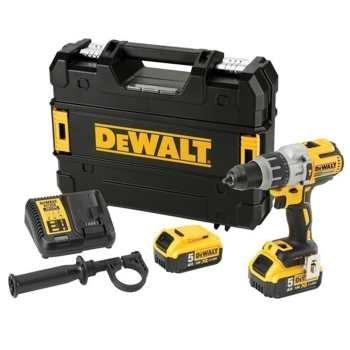 دریل پیچ گوشتی چکشی شارژی دیوالت مدل DCD995P2 | Dewalt DCD995P2 Cordless Hammer Drill Driver