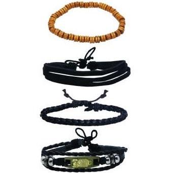 دستبند مردانه کد chf019 مجموعه 4 عددی