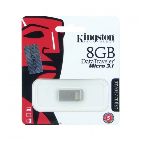 main images فلش 8 گیگ کینگستون مدل DTMCK Kingstone 8GB DT micro 3.1 Flash Drive