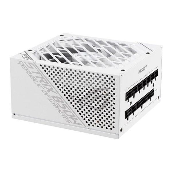 تصویر پاور کامپیوتر 850 وات تمام ماژولار ایسوس مدل ROG-STRIX-850G-WHITE