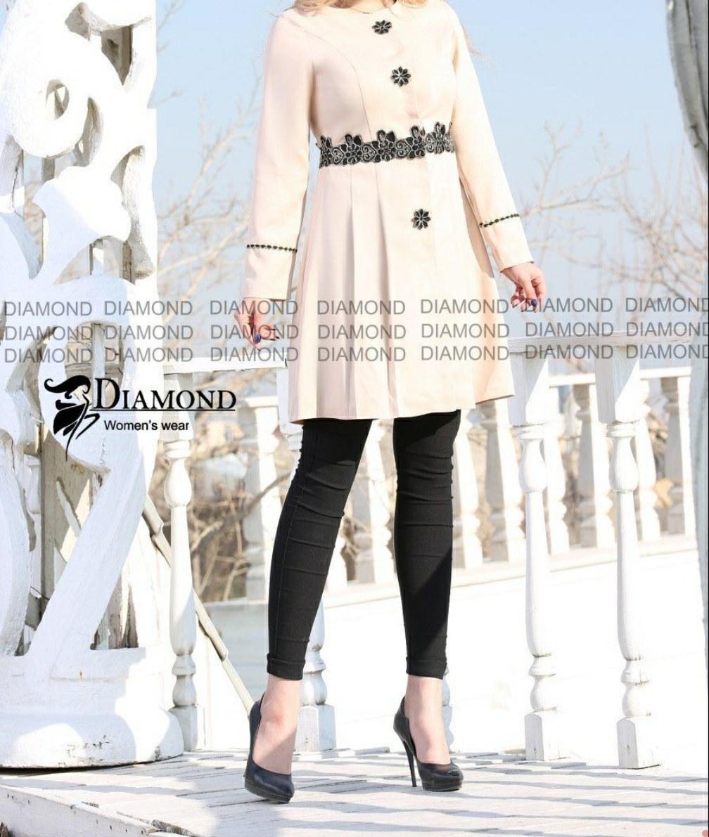 عکس مانتو کرپ دخترانه مدل دایموند رنگ کرم  مانتو-کرپ-دخترانه-مدل-دایموند-رنگ-کرم