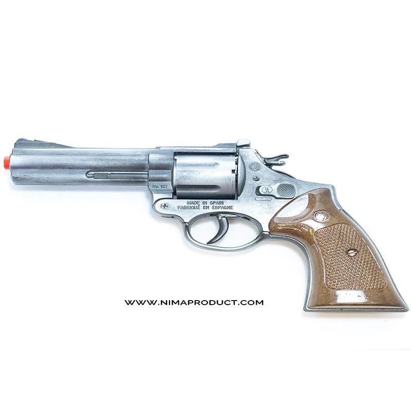 تصویر تفنگ هفت تیر فلزی گانهر مدل 127.1