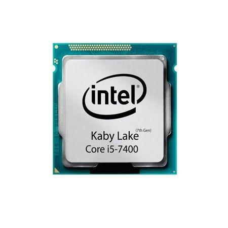 تصویر سی پی یو اینتل مدل Core i5-7400 تری
