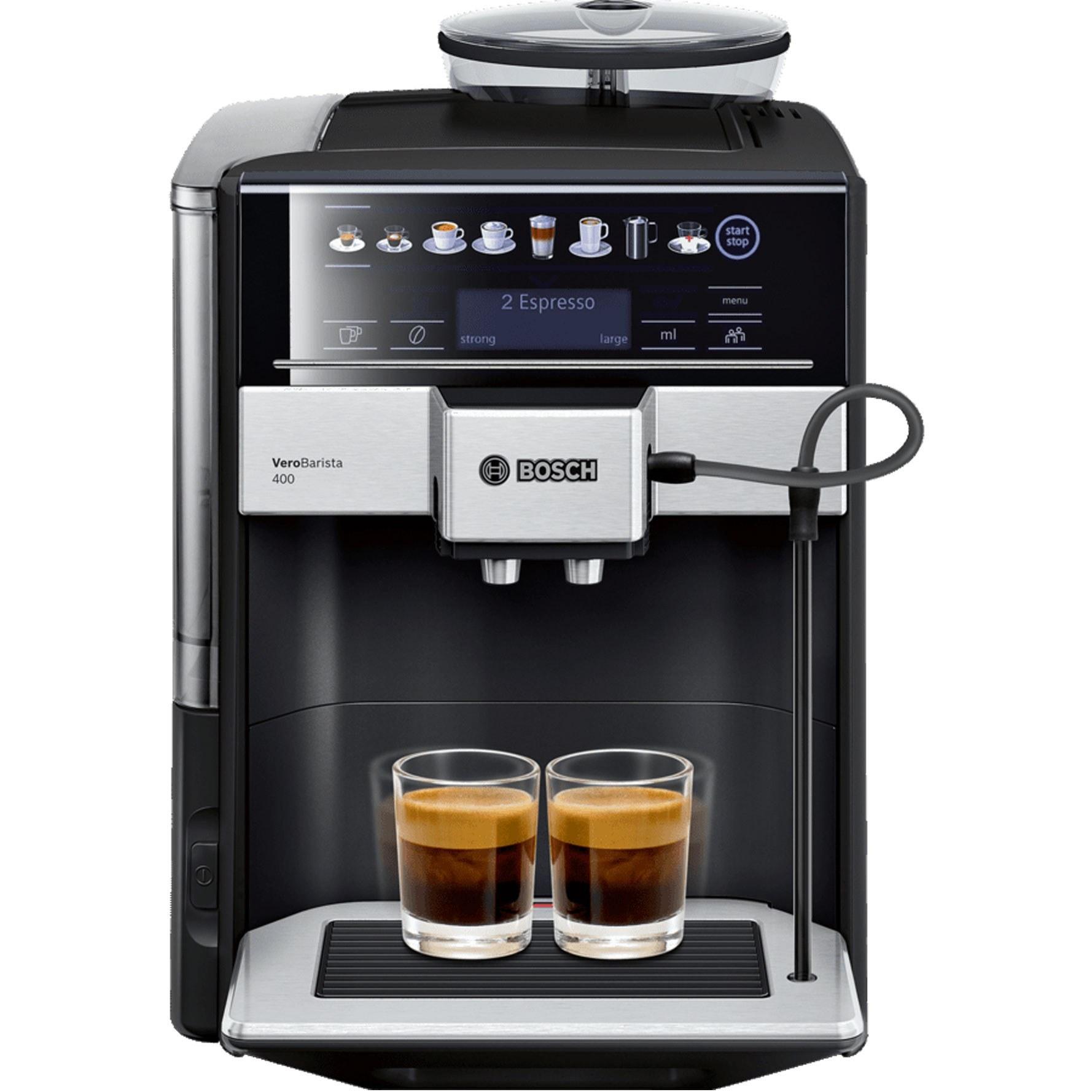 تصویر اسپرسو ساز بوش مدل TIS65429RW با توان ۱۵۰۰ Bosch espresso machine TIS65429RW with a capacity of 1500